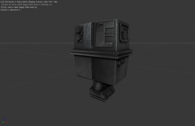 Gonk Droid - In-Editor