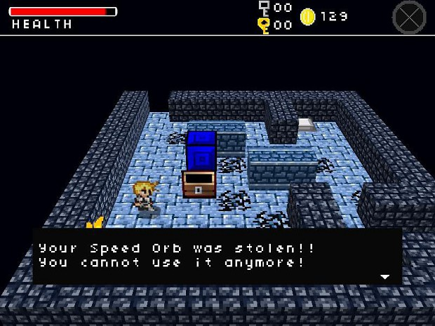 Orb stolen