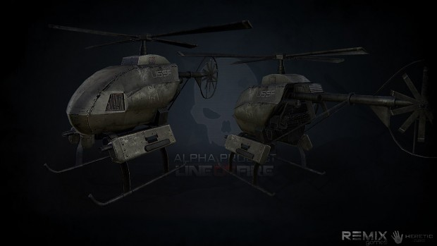 UAV Helicopter Predator Drone thingy...[Wip]