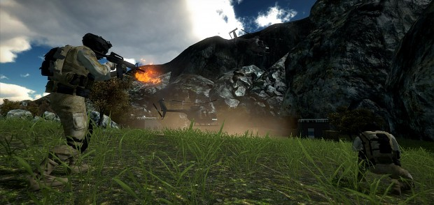 Alpha Project: Line of Fire - Development Screeny