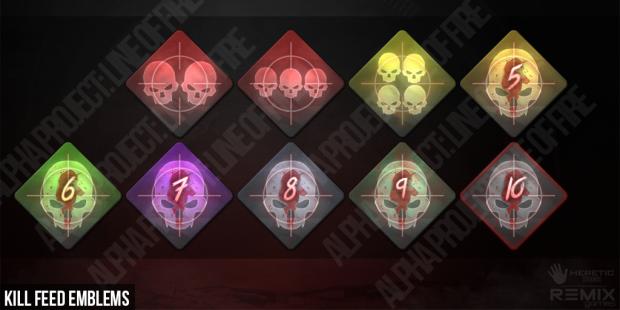 Kill streak Emblems