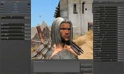 Character editor