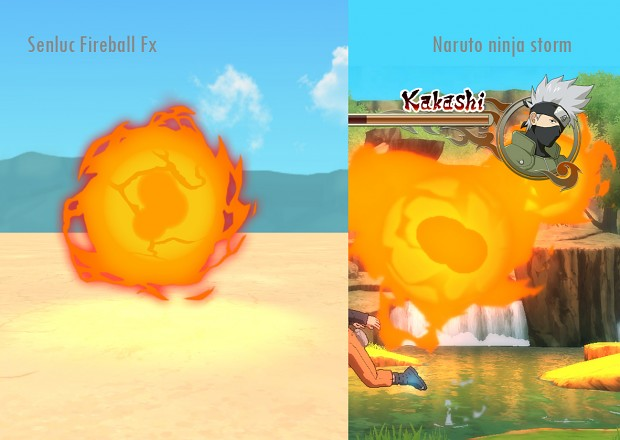 Fire Element : Fireball jutsu