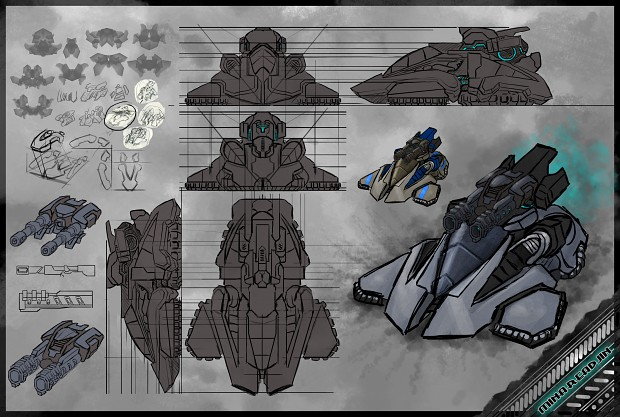 2nd Gen Survivors: Hoverbuggy concept 2