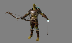 Renders/Screenshots - Final Orc Archer #1