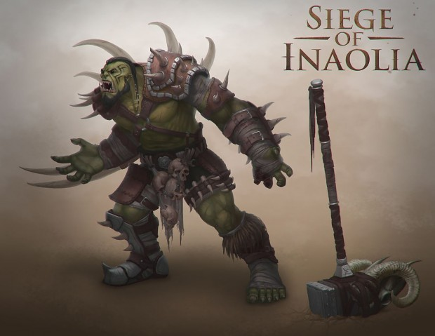 Concept Art - The Orc General