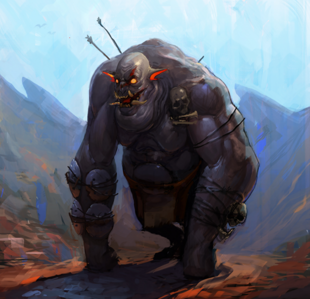 Concept Art - Ogre