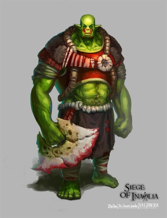 Concept Art - Orc Grunt Leader