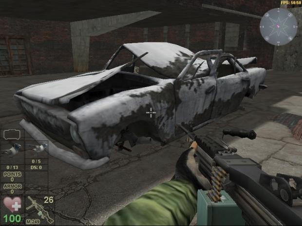 Apocalypse City: Machine Gun