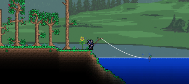 Terraria 1.2.4 Fishing
