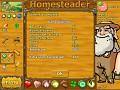Homesteader screenshot