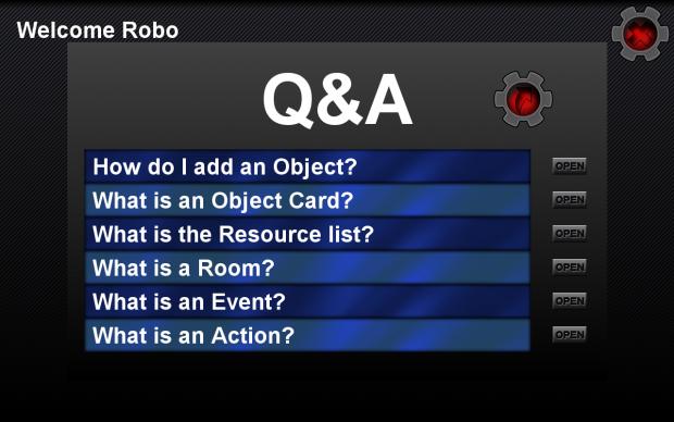 The Q&A Menu