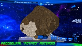 Potato Asteroid w/ Craters & Random Ore
