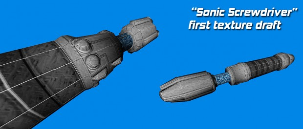 Blockade Runner Sonic Screwdriver Texture