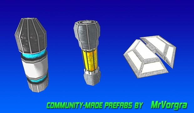 Community Prefabs - by MrVorgra