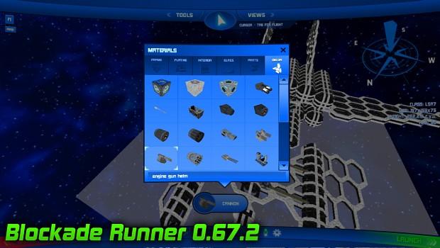 Blockade Runner - New Materials!