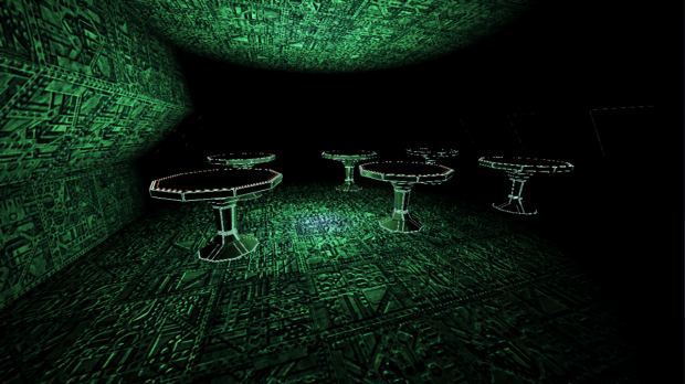 Glow in the dark tables!