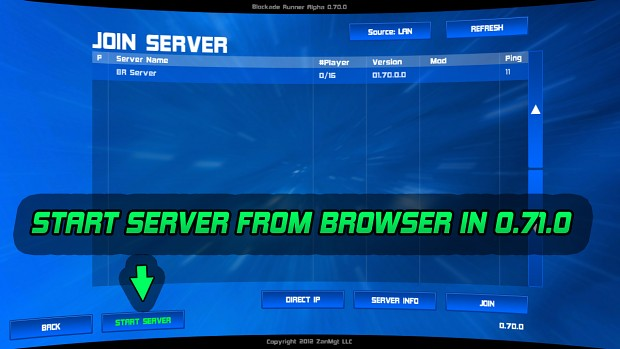 Start Server from Browser in upcoming 0.71.0!