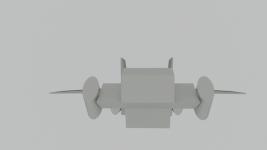 3D Dropship Concept