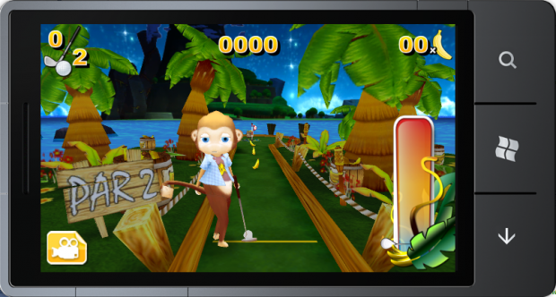 Monkey Mini Golf