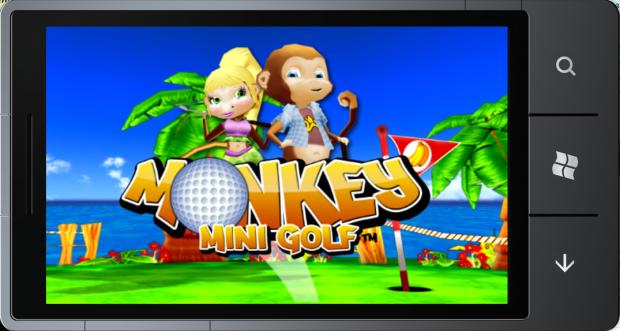 Monkey Mini Golf