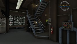 Control Room : Stairs