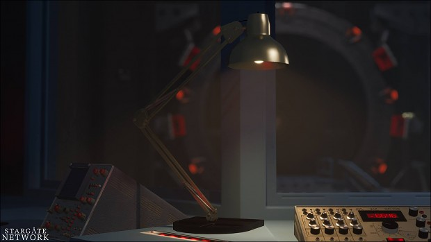 Control Room Lamp