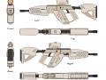 XR15 Assault Rifle Full Concept Sheet