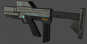 TK9 FP Final Textured Gun