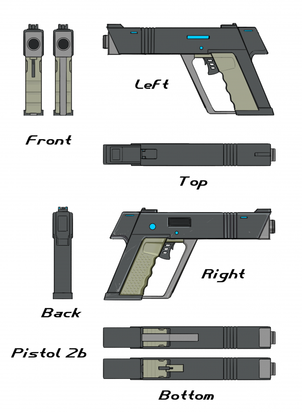Pistol Final Concept Sheet