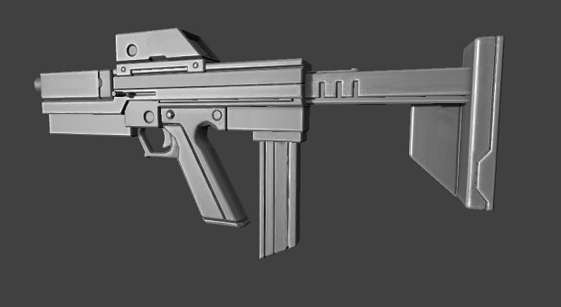 IOTY Madness - TK9 SMG First Person Model