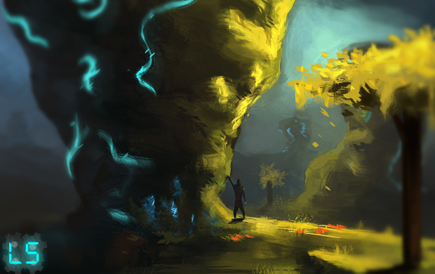 Concept 4 cool glowing rocks!