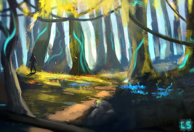 Another sweet environment painting!