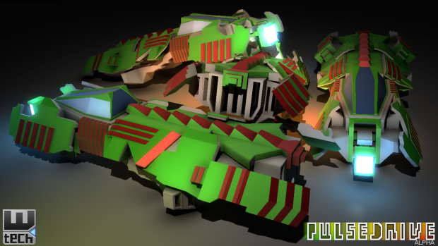 Pulsedrive Alpha - Heavy Ship