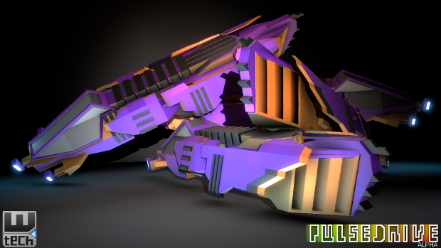 Pulsedrive Alpha - Light Ship
