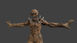 So I retopoed Vynzent Imp...