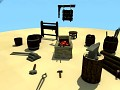 [Blackreef Pirates] Blacksmith assets video
