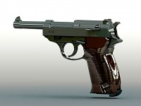 Portuguese Weapon - Walther P38