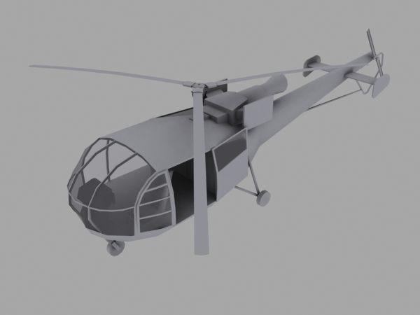 [Portuguese] Alouette III Chopper