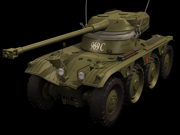[Portuguese] - Panhard EBR armoured car