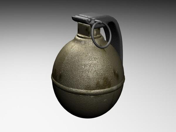 Portuguese Weapon - Grenade
