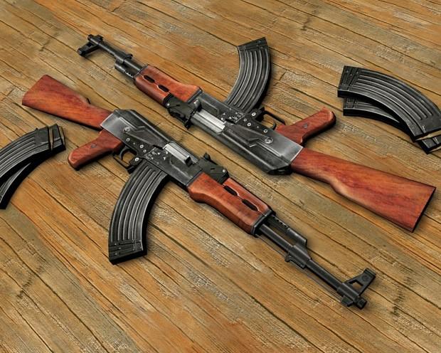 MPLA - Kalashnikov