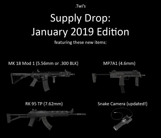 jan 2019 supply drop