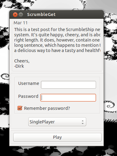 ScrumbleGet linux