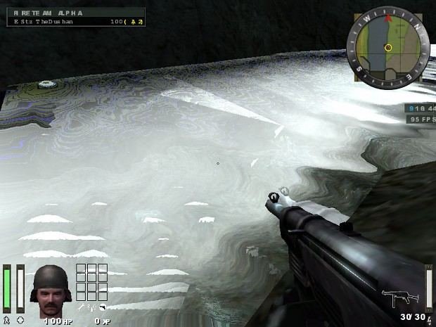 GLSL water in Warbell