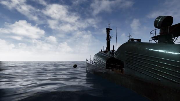 [SRP] Day 2 - Ocean WIP