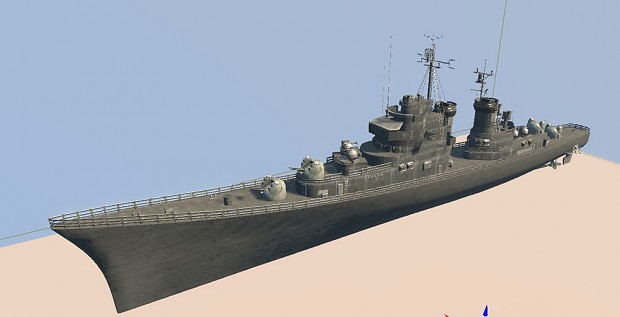 USS Norfolk ship WIP