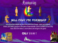 Announcing Will Fight for Friendship!
