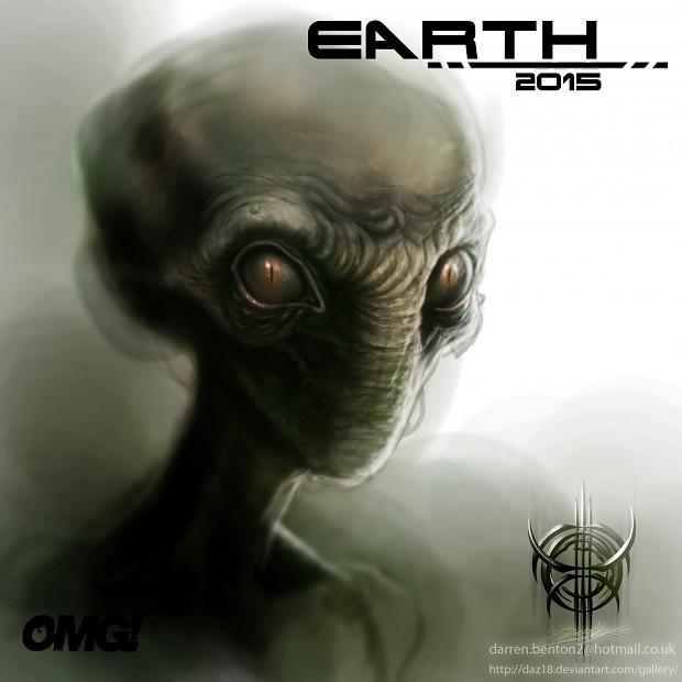 Hostile Alien concept