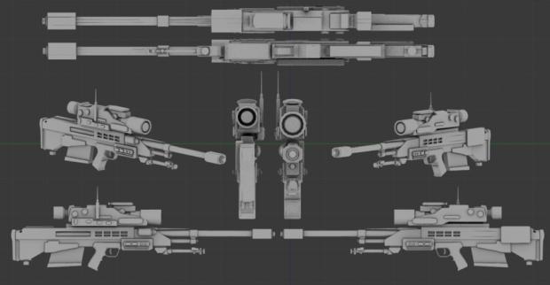 Future Sniper Rifle Concept